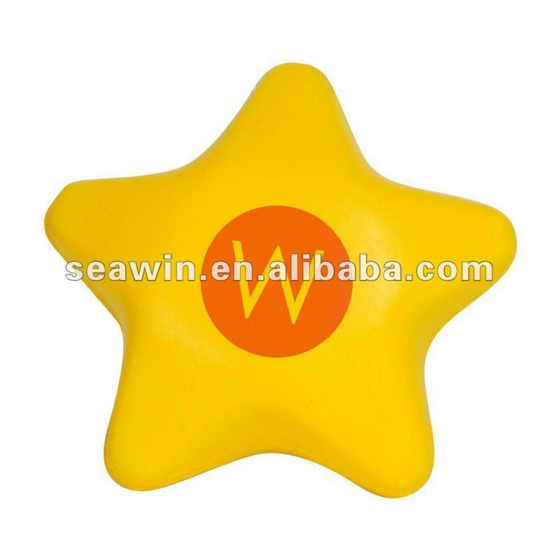 star stress reliever ball(polyurethane)