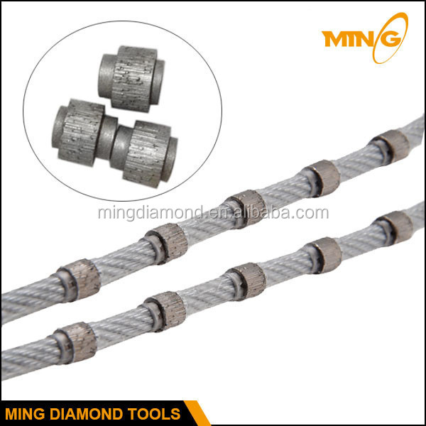 Plastic Coating Diamond Cutting Multi Wire Saw For Stone Cutting On ...