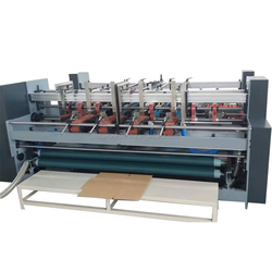 corrugated carton box folding gluing machine prices