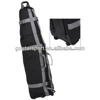 Polyester Golf Bag Travel Cover with Wheels