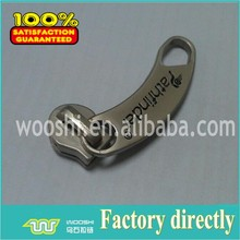 Fancy puller zipper slider nickel free for luggages