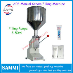 Small Bottle Manual Filling Machine/ cream,shampoo,cosmetic filling machine/whitening cream filling machinery
