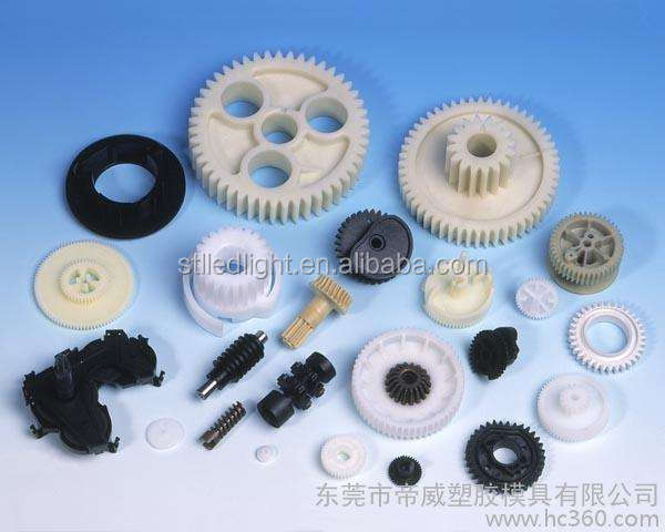 custom abs/pp/pe/nylon plastic injection molding products and parts
