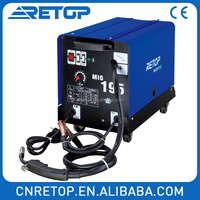 MIG 195 high quality MAG welder dc portable inverter welder welding machine cheap mig welders for sale