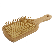 Hair comb Wooden Paddle Hair Brush Comb Head Massage Hair Keratin Care and Beauty Spa Massage brush Airbag Random
