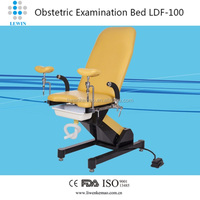 Hospital Electric Adjusted Female Gynecological Exam Chair LDF-100
