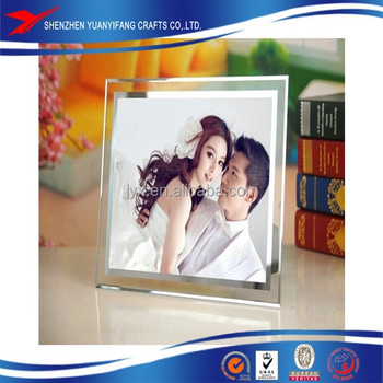 Clear magnetic acrylic photo frame 5''*7''