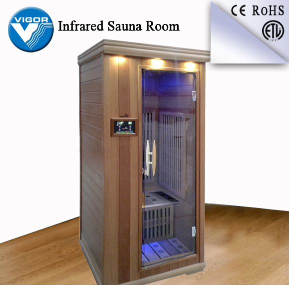 New invention mini sauna and steam combined room outdoor dry sauna steam room