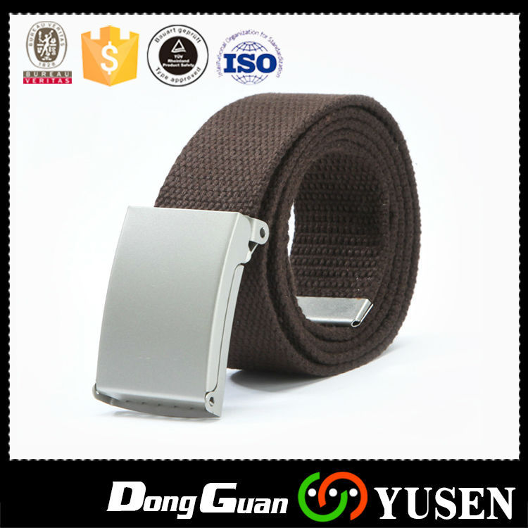Factory Price Many eyelet Blue fashion fabric men belts