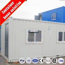 Prefabricated shipping container with side doors