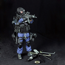 Police SWAT Breacher Action Figure Military Action Figures Soldier SWAT Team Series Figure