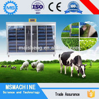 CE livestock fodder hydroponic system, hydroponic growing machine, sprouting machine for grass/barley/wheat/alfalfa/rye