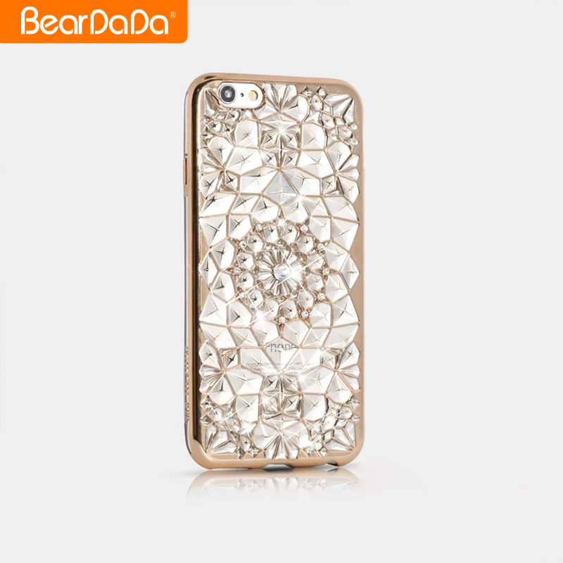 Hot Sale tpu crystal bling phone case cover for iphone 7 case