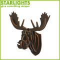 Hot Selling animal head home Wall Decoration for Christmas Decoration
