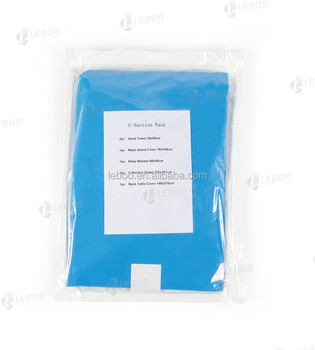 Leboo Disposable C-Section Surgical Pack