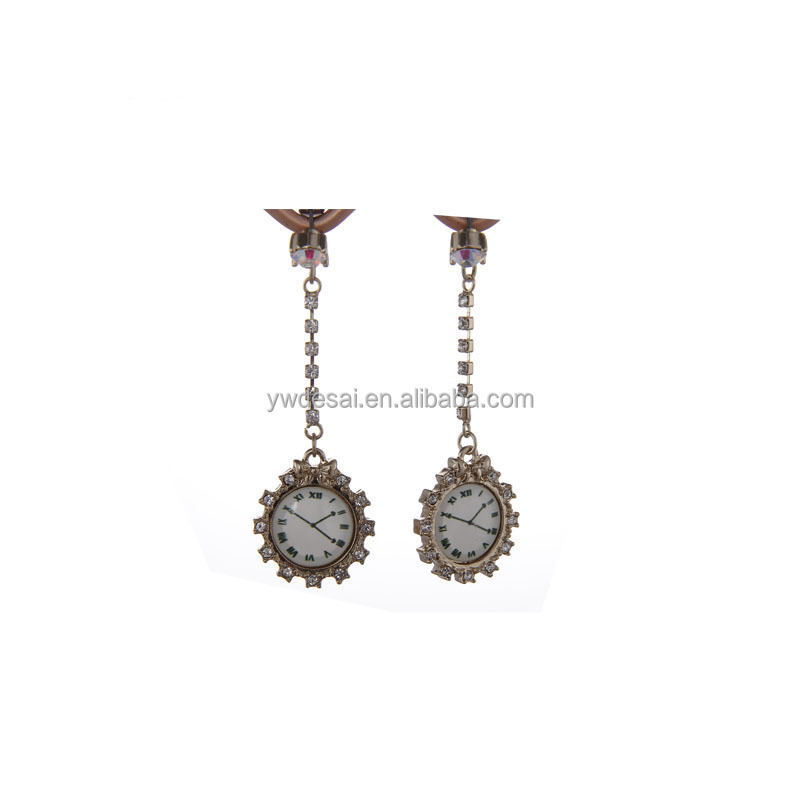 2014 hot selling fashion along with the watch earrings