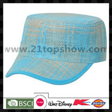 2013 fashion nature straw cap sunshine hat army cap