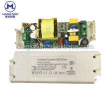TUV certification Passed IP20 led drivers 30 - 50w high PF