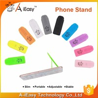 multicolor folding mobile sticky universal phone holder
