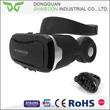 new products 3d vr glasses 3d vr video glasses with headphone