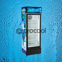 promotional 400L spirits refrigerator commercial cooler for drink