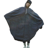 Hot sale Bike Raincoat Polyester PVC Coating Adult Bicycle Raincoat