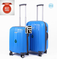 20/24/28 inch 3pcs eight wheels luggage suitcase set /China direct factory PP luggage
