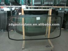 tempering auto rear windshield glass with heater