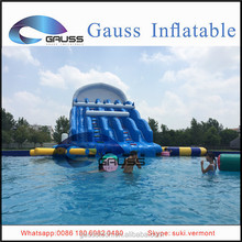 Hot sale water slide in children/waves inflatable water slides