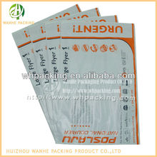 Tamper evident pouches / plastic document pouches