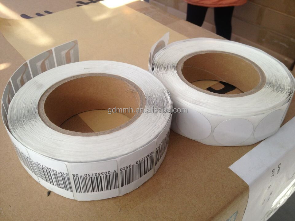 2015hot 8.2Mhz eas soft label anti theft label