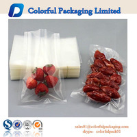 heat seal insulated plastic bag for vacuum frozen food packaging