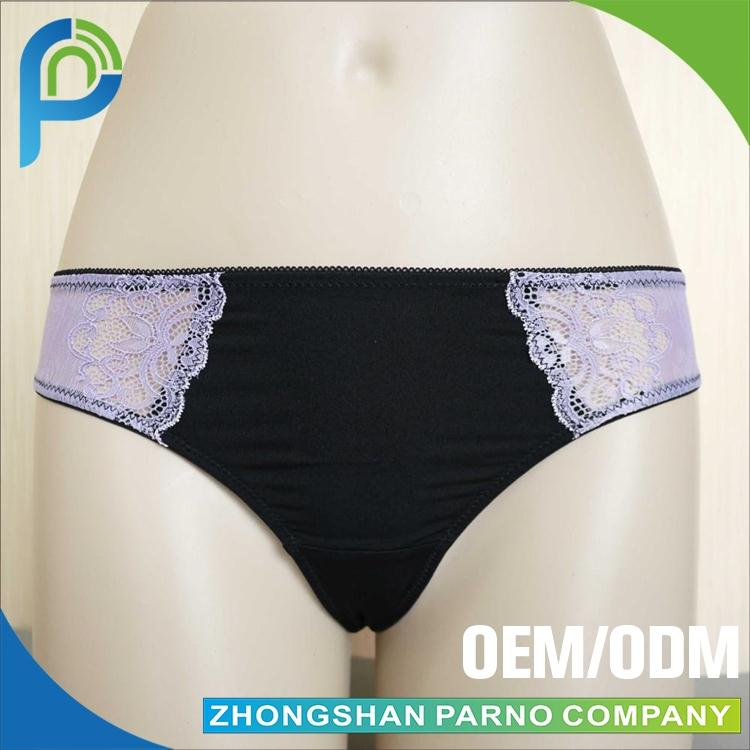 Wholesale girls fancy panties, sexy thongs girls underwear, girl see-through thong