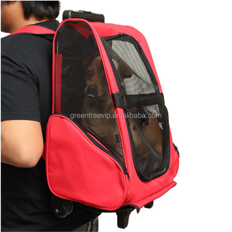 foldable oxford dog carrier bag pet travel bag