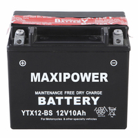 Hot! 12V rechargeable snowmobile battery 12V10AH on sale