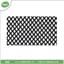 Professional factory custom high quality coated heavy duty polyester mesh fabric for bags