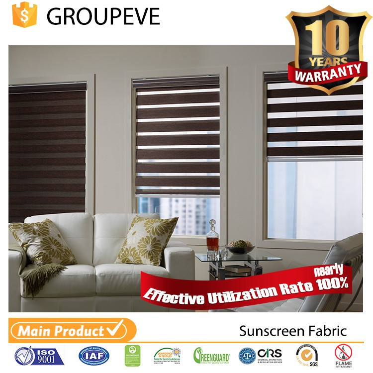 High quality cheap price Fire Retardant zebra blinds