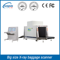 high sensitivity station x-ray luggage scanner inspection systems machine.