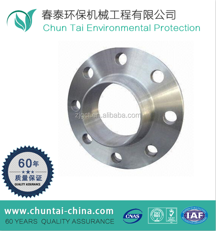 China Factory Sale Forging CNC Machining steel pipe aluminum welding neck flange
