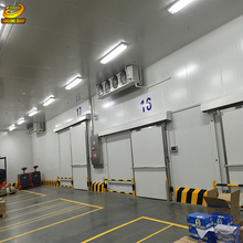 2017 prefabricated cold steel storage warehouse