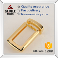 Good price 35mm gold solid brass belt buckles