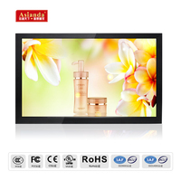 LED Backlight 84 inch lcd tv monitor with vga