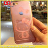 100% TPU 3d Hello Kitty Back Cover For Iphone 6 Plus