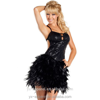 2016 new arrival Sexy black belly dance costume for women