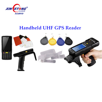 920-926mhz Android Bluetooth passive long range handheld uhf rfid reader
