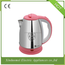 New Arrival 2017 Stainless Steel 1.8L 2.0L Hotel Electric Kettle