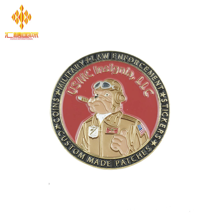 High quality cheap wholesale custom challenge gold custom coin
