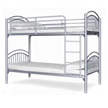Longli Strong Simple Classical Design Cheap Single Steel bed frame for employee