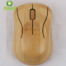 ODM bamboo cordless computer optical high quality branded mouse
