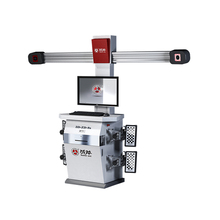BATTLE-AXE 3D auto chassis repair wheel alignment machine price